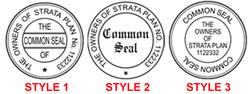 Folding Strata Seal Stamp