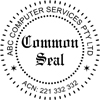 Folding Common Seal Stamp Style 2