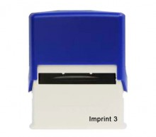 Imprint 3 Self Inking Rubber Stamp  58mm x 22mm