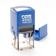 CGS 4940 Self Inking Rubber Stamp 40mm Square