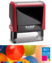Multicolour Trodat Printy 4913 Self Inking Rubber Stamp  58mm x 22mm