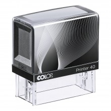 Colop Printer 40 Self Inking Rubber Stamp  59mm x 23mm