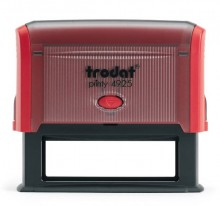 Trodat Printy 4925 Self Inking Rubber Stamp 82mm x 25mm