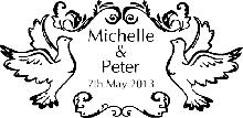 Wedding Rubber Stamp 5