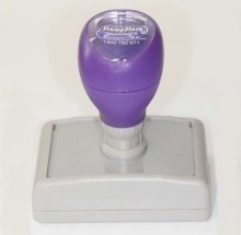 DF4355 Self Inking Rubber Stamp 43mm x 55mm