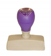 DF1355 Self Inking Rubber Stamp 55mm  x 13mm