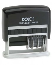 Colop S120P Adjustable Date Stamp Self Inking 25mm x 10mm