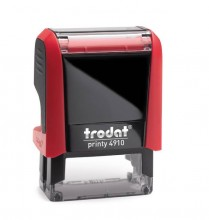 Trodat Printy 4910 Self Inking Rubber Stamp  26mm x 9mm