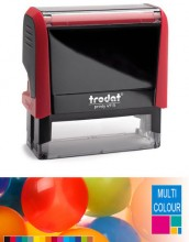 Multicolour Trodat Printy 4915 Self Inking Rubber Stamp  70mm x 25mm