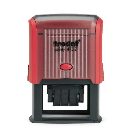 Trodat 4727 Self Inking Adjustable Date Stamp 60mm X 40mm