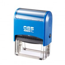 CGS 4926 Self Inking Rubber Stamp  75mm x 38mm
