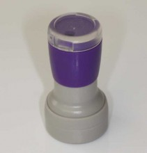 DF-19 Self Inking Rubber Stamp 19mm Diameter
