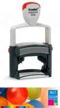 Multicolour Trodat Professional 5206 Self Inking Rubber Stamp 56mm x 33mm