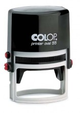 Colop OV55 Oval Self Inking Rubber Stamp 54mm x 35mm
