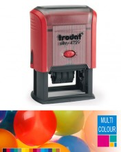 Multicolour Trodat Printy 4729 Dater Self Inking Rubber Stamp 50mm x 30mm