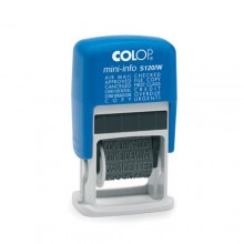 Colop S120W Phrase Stamp Self Inking