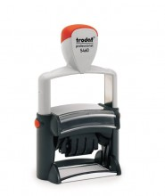 Trodat Professional 5460 Self Inking Adjustable Date Stamp 56mm x 33mm