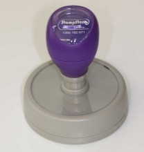 DF-65 Self Inking Rubber Stamp 65mm Diameter