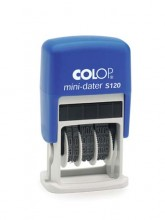 Colop S120 Mini Adjustable Date Stamp Self Inking (Date Only)