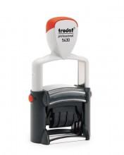 Trodat Professional 5430 Self Inking Adjustable Date Stamp 41mm x 24mm