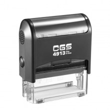 CGS 4913 Self Inking Rubber Stamp  58mm x 22mm