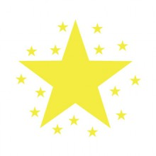 Teacher Stamp Star with twinkles