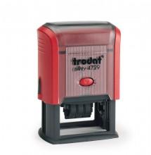 Trodat Printy 4729 Self Inking Adjustable Date Stamp 50mm x 30mm