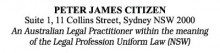 Legal Stamp - Uniform Law NSW