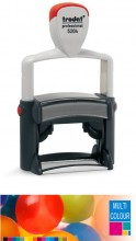 Multicolour Trodat Professional 5204 Self Inking Rubber Stamp 56mm x 26mm