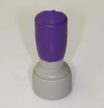 DF-13 Self Inking Rubber Stamp 13mm Diameter