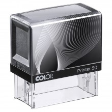 Colop Printer 50 Self Inking Rubber Stamp  69mm x 29mm