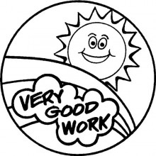 Teacher Stamp Very Good Work