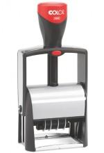 Colop 2660 Adjustable Date Stamp Metal Framed Self Inking 58mm x 37mm
