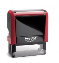 Trodat Printy 4912 Self Inking Rubber Stamp  47mm x 18mm