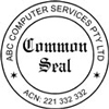 Common Seal self inking 40mm Style 1