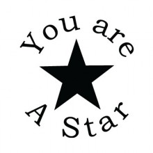 Teacher Stamp You are a star