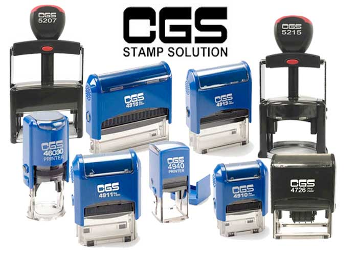 CGS Self Inking Stamps