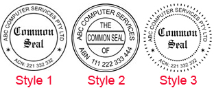Common Seal Stamp Desk Gift Kit