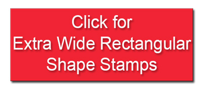 Click to View Wide Thin Rectangle Self Inking Rubber Stamps