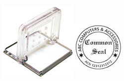Common seal self inking stamps for Common seal template