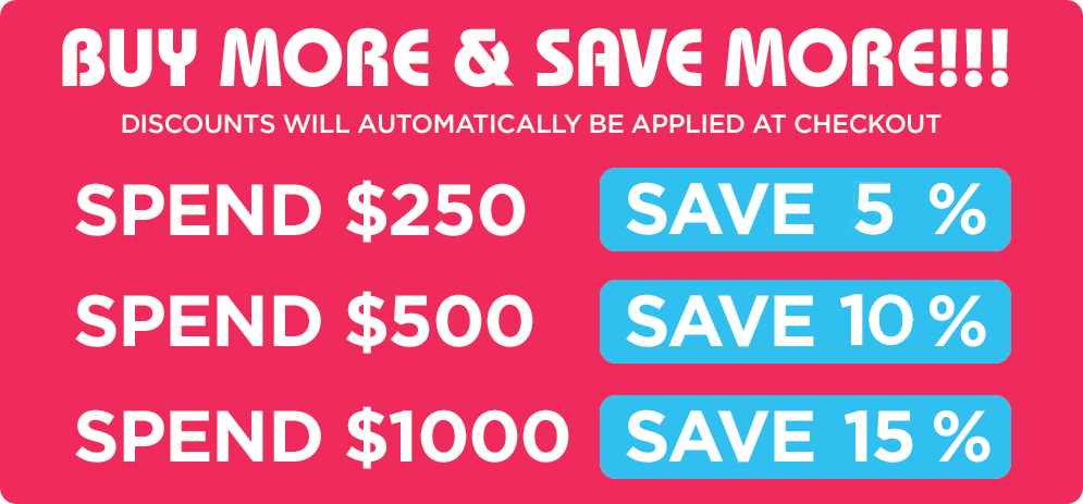 Save on our rubber stamps with our discounts