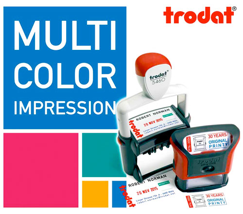 Trodat Multicolour Stamps