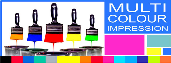 Trodat Multi Colour Rubber Stamps