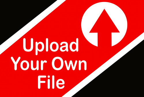 Click to Upload Your Own File