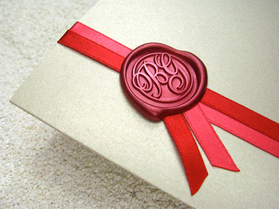 weddind-stationary wax seal