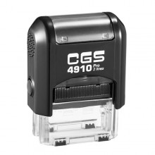CGS 4910 Self Inking Rubber Stamp  26mm x 9mm