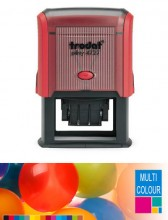 Multicolour Trodat Printy 4727 Dater Self Inking Rubber Stamp 60mm x 40mm