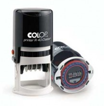 Colop Adjustable Time and Date Stamp Self Inking