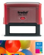 Multicolour Trodat Printy 4925 Self Inking Rubber Stamp 82mm x 25mm