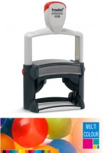 Multicolour Trodat Professional 5208 Self Inking Rubber Stamp 68mm x 47mm